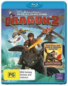 How To Train Your Dragon 2 Blu-Ray NEW
