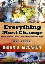 Everything Must Change by Brian D. McLaren (2008, DVD, Special)