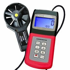 Thermo Anemometer, Air Speed Wind Flow Temperature Velocity Beaufort Scale, HVAC