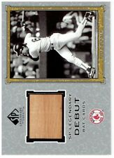Bill Buckner 2001 Sp Legendary Cuts Debut Game Bat Card #Dbb