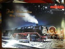 Marklin 37899 loco a vapore digital sound natalizia