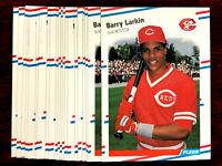1988 Fleer BARRY LARKIN ~ 20 CARDS LOT ~ REDS  HOF HALL OF FAME INDUCTEE