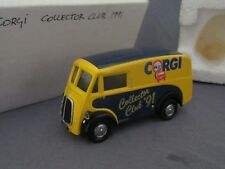 502F Corgi Collector Club 91 Morris J Type Fourgon 1:43
