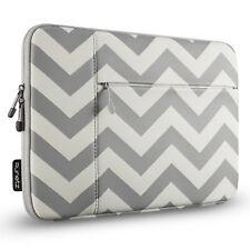 """Runetz Sleeve for MacBook Pro 15 inch Laptop 15.4"""" Neoprene Cover Case CHEV.GRAY"""