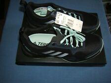 Adidas Women's Terrex CMTK W Outdoor Traction Black Mint Trail Shoes sz 9 NIB