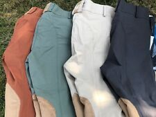 NEW George H Morris Ladies Show Time Breeches, Sea Sand 26