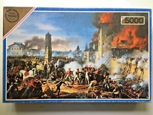 Falcon Deluxe - 5000pcs Jigsaw Puzzle - 'Attack & Taking of Ratisbon' No.3154