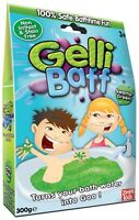 Green Gelli Baff 300g 1 Use Swamp Green Bath Zimpli Kids