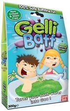 Green Gelli Baff 300g 1 Use Swamp Green Bath Zimpli Kids