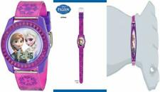 Disney's Frozen Kids' Digital Watch with Elsa and Anna on the Dial, Purple...