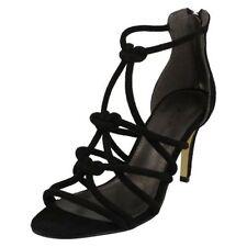 Anne Michelle F1R0577 Ladies Black Strappy Sandals (R29B)