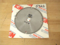 """National Diamond Lab Slotted Saw Blade 4"""" x 0.025"""" 100 Grit 7804"""