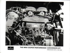 Rover Mini Cooper Performance Conversion Kit 1990 original b/w Press Photograph
