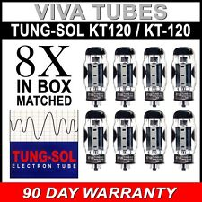 Brand New In Box Matched Octet (8) Tung-Sol Reissue KT120 / KT-120 Vacuum Tubes