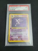 Pokemon Card 1st Edition #6 HAUNTER HOLO 1999 FOSSIL Set PSA 9 MINT WOTC