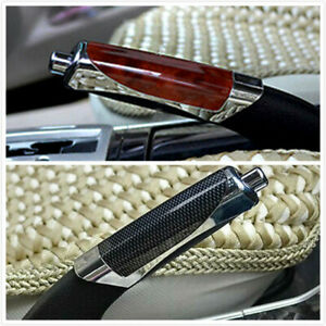 1 Set Car Carbon Fiber Style Hand Brake Cover Protector Universal Accessories