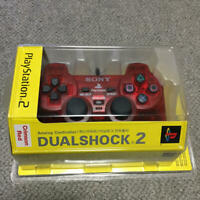 SONY DUALSHOCK 2 Official Analog Controller Crimson Red SCPH-10010 PlayStation