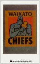 1996 NZ NPC Cards Superstar Of Union Super 12 Club Logo S2 Waikato Chiefs