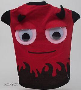 Halloween Martha Stewart Red Devil Pet Dog T Shirt Size Large NWT