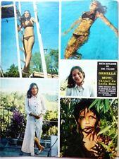 ORNELLA MUTI => 1 page 1971 SPANISH CLIPPING / COUPURE PRESSE