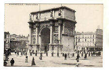 Porte D'Aix - Marseille Photo Postcard c1910