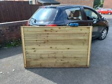 New listing 6 Fence Panels Double Skin Handmade 63 Inches Long By 39 And 3 Quarters Hi Hi...