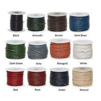 1mm genuine round cord leather, leather 1mm round lace 1,3,5,10,25 yd section