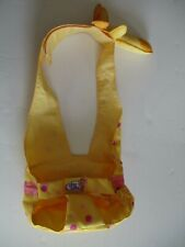 "Zapf Chou Chou Giraffe Doll Carrier Excellent Condition 14-19"""