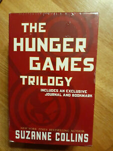 The Hunger Games Trilogy Box Set Includes Journal & Bookmark Suzanne Collins