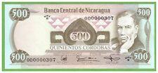 NICARAGUA - 500 CORDOBAS - 1985 - P-144 - NR000000306  - UNC - REAL FOTO