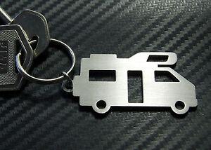 MOTOR HOME Camper Van Mobile Transit High Top Over Cab Keyring Keychain Key Gift