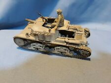 New listing Wwii Italian light tracked assault tank, 1/35 scale