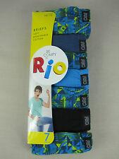 Rio Boys 7 Pack Soft Breathable Cotton Briefs Underwear Sizes 8 10 12 12 - 14