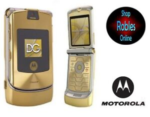 Motorola RAZR V3i Dolce&Gabbana Gold (Ohne Simlock) 4Band Bluetooth Original TOP