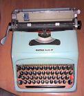 OLIVETTI STUDIO 44 MACCHINA DA SCRIVERE POST M1 del 1952 OLD & RARE TYPEWRITER