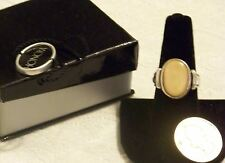 Estate Find Vintage Honora Mother of Pearl 925 Sterling Ring