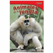 Animales de la jungla en peligro (Endangered Animals of the Jungle) (S-ExLibrary