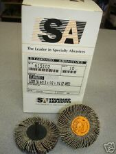 "(10) 3"" 1/2""  Standard Abrasives Flap wheel 36 Grit  $84 615102 1/4"" shank"