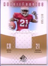 antrel rolle rookie jersey patch giants hurricanes /100