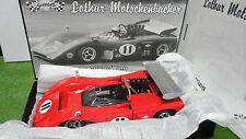 McLaren M8B Low Wing #11 Lothar Rouge au 1/18 GMP 12026 voiture miniature Can-Am