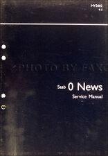 2002 Saab 9-3 Service Training Shop Manual 93 Engine Electrical Trunk Repair