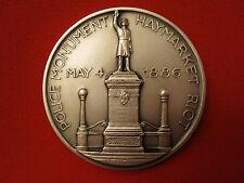 VINTAGE 1868-1968 CENTENNIAL MEDAL POLICE PBA CHICAGO 1886 HAYMARKET RIOT COIN