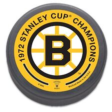 Boston Bruins 1972 Stanley Cup Champions NHL Collectors Puck