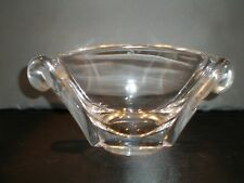 "Vintage Steuben Glass Oval Bowl 7.5"" 1949 George Thompson Design #7983 - SIGNED"
