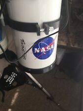 Twinstar telescope with electronic  mount (ioptron) and 5 MP camera! Extras!!
