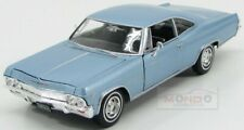 Chevrolet Impala Ss 396 Coupe 1965 Light Blue Welly 1:24 WE22417LB