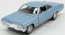 CHEVROLET Impala SS 396 1965 nero modello di auto Welly 1:24