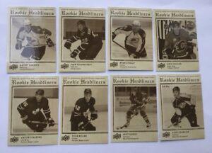 Lot of (15) 2009-10 Upper Deck Rookie Headliners  Tavares  etc Ice Hockey