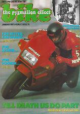 Bike Magazine 01/87 CZ125 Gilera 350 Dakota Imp Norton Commando Ducati 750 Paso