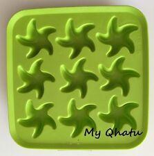 IKEA Silicone Starfish Shaped Ice Cube Tray Jello Mold